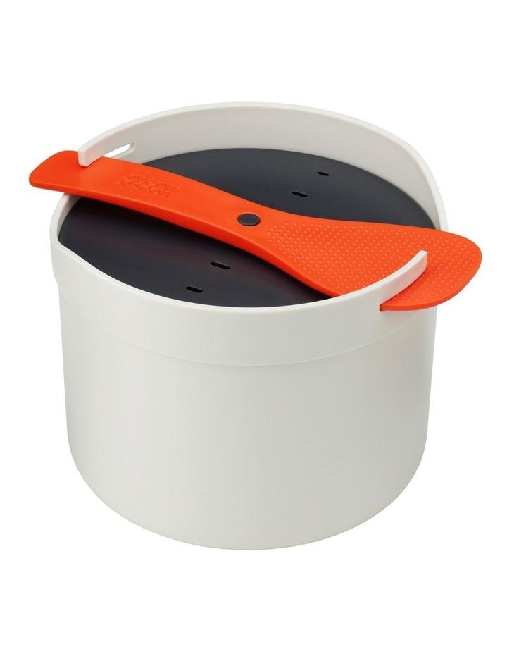 M-Cuisine Microwave Rice Cooker - Stone/Orange image 1
