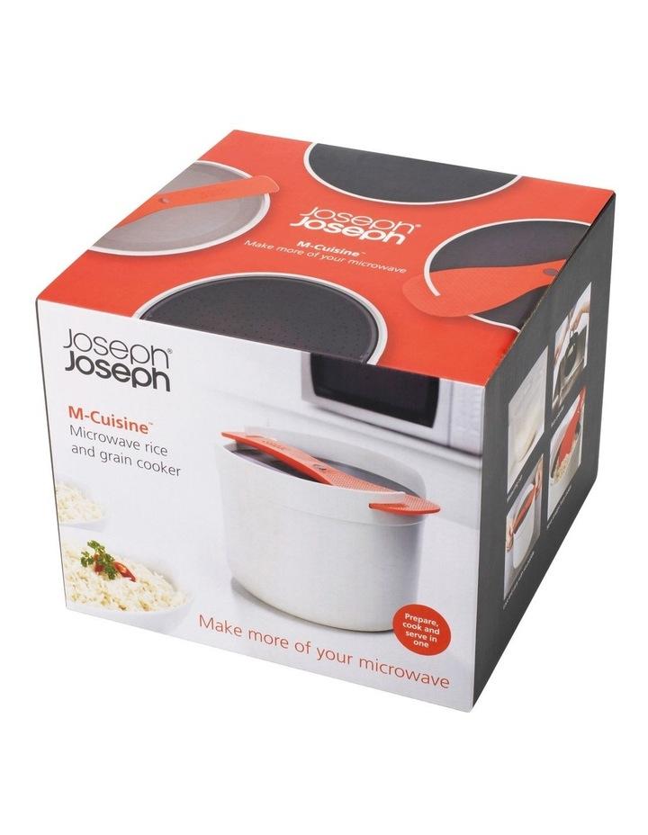 M-Cuisine Microwave Rice Cooker - Stone/Orange image 2