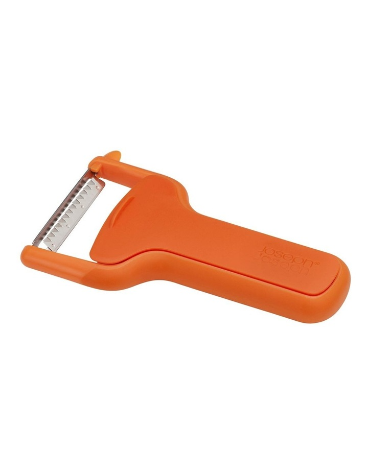 SafeStore Julienne Peeler with Blade Guard - Orange image 1