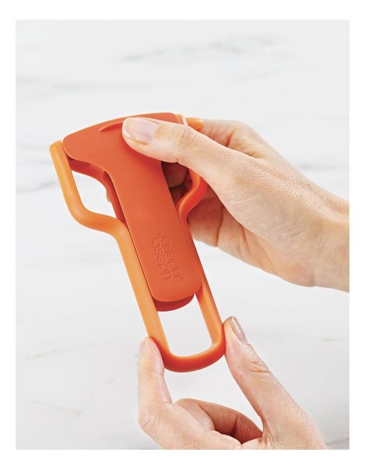 SafeStore Julienne Peeler with Blade Guard - Orange image 2