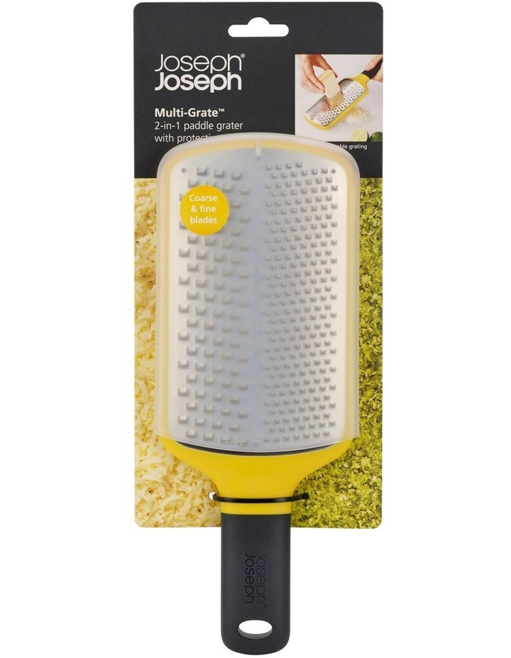 Multi-Grate Paddle Grater - Yellow image 2