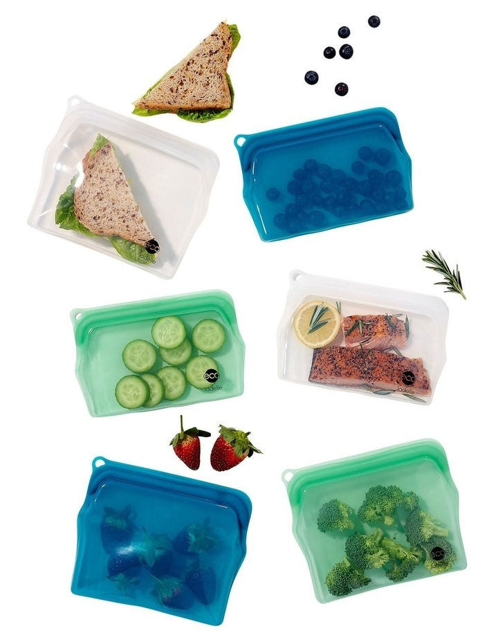 Eco Store It Assorted in SRT Snack Zip Lock Bag image 3