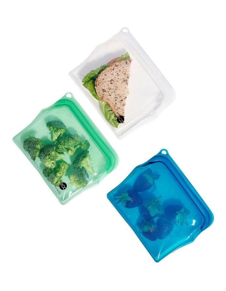 Eco Store It Assorted in SRT Sandwich Zip Lock Bag image 2