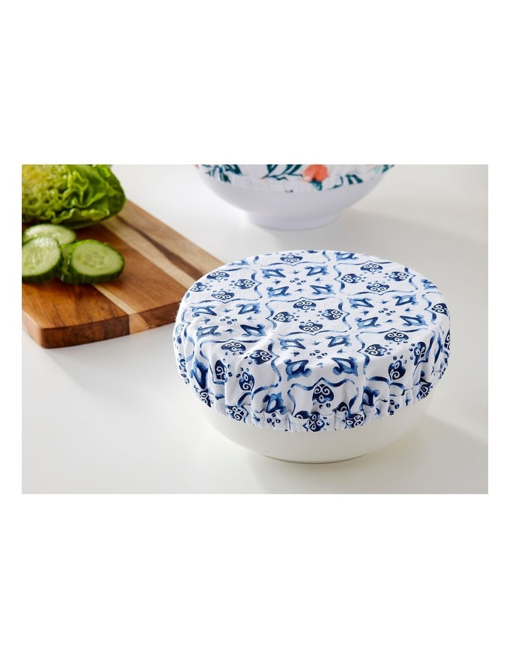 Stretch Food Bowl Covers 3pk Marbella image 2