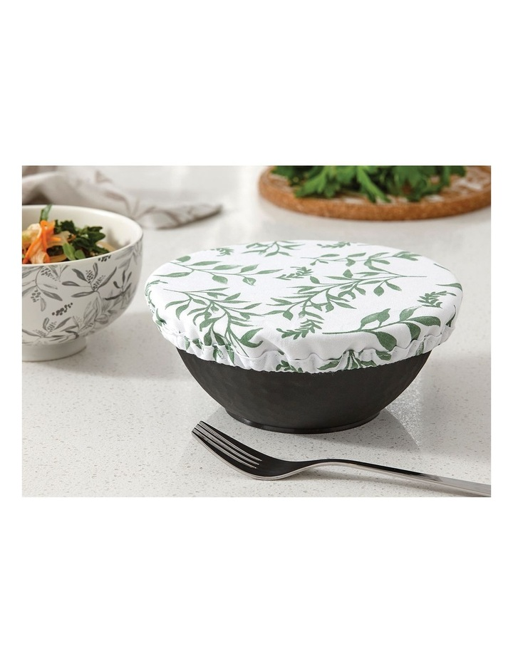 Stretch Food Bowl Covers 3pk Grown Ivy image 2