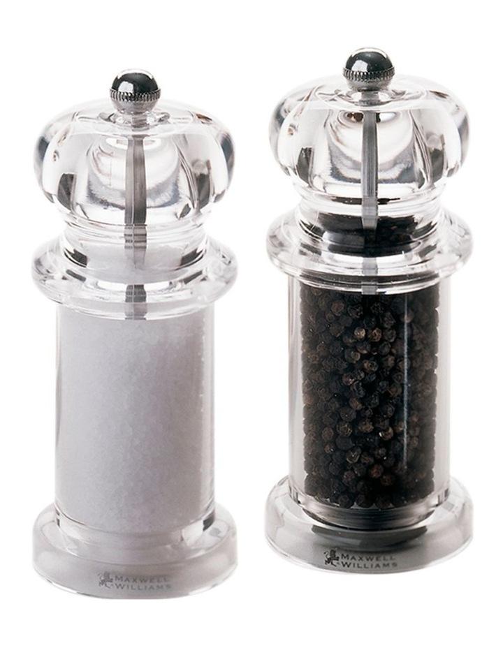 Classic Salt & Pepper Mill Set 14cm Gift Boxed image 1