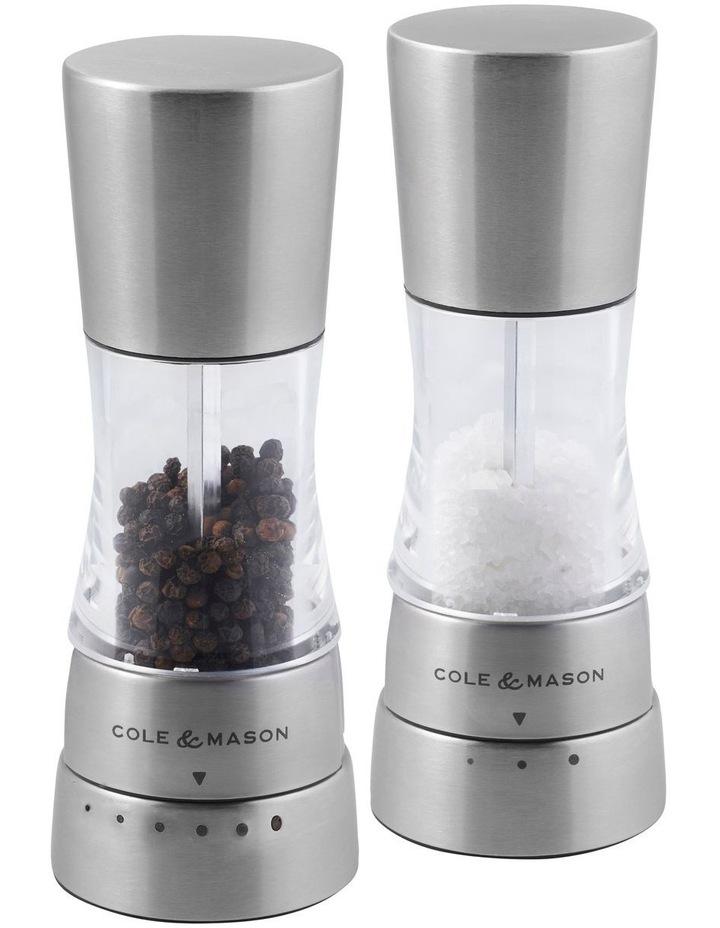 Derwent Mini Salt And Pepper Mills Gift Set 15.7cm image 1