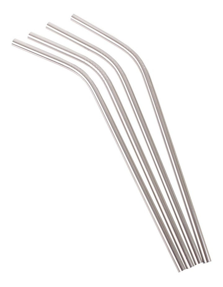 Stainless Steel Bent Drinking Straw image 4