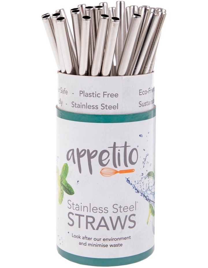 Stainless Steel Straight Smoothie Straw image 2