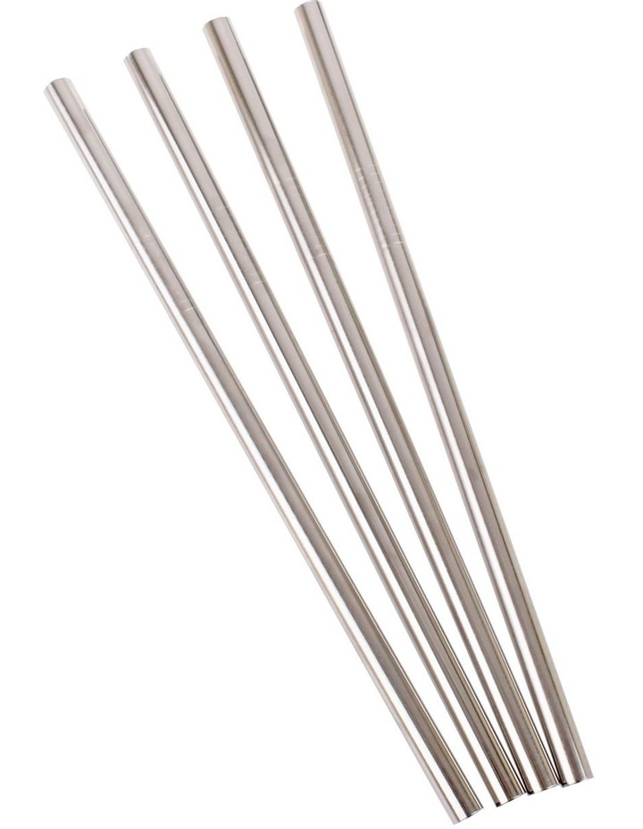 Stainless Steel Straight Smoothie Straw image 4