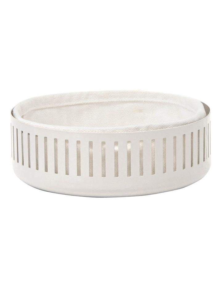 Strand Bread Basket 15cm - Stone image 1