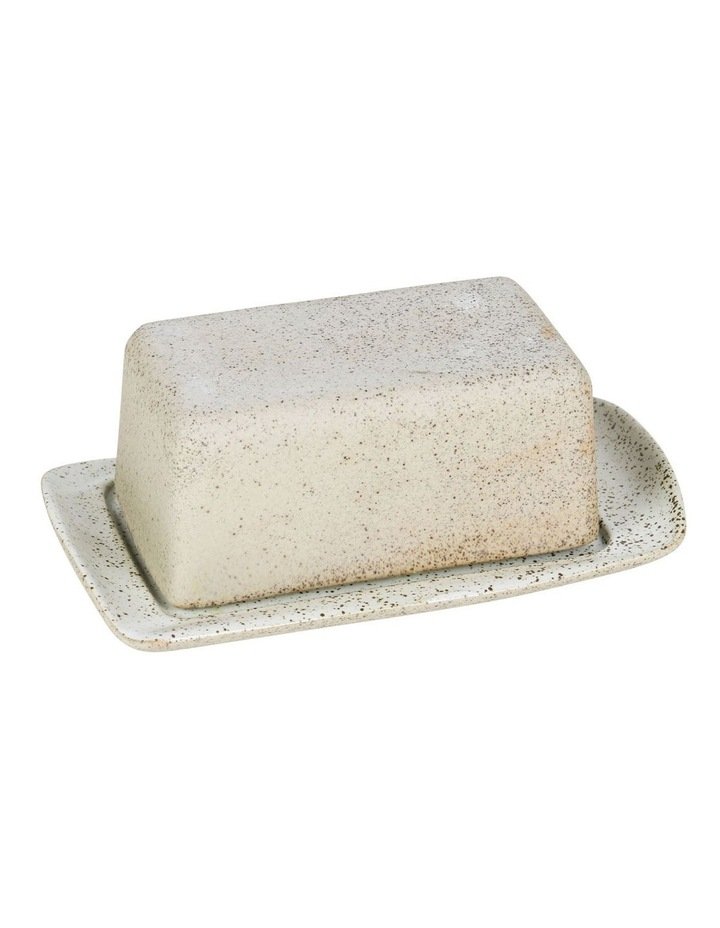 Butter Dish-White Garden To Table image 1
