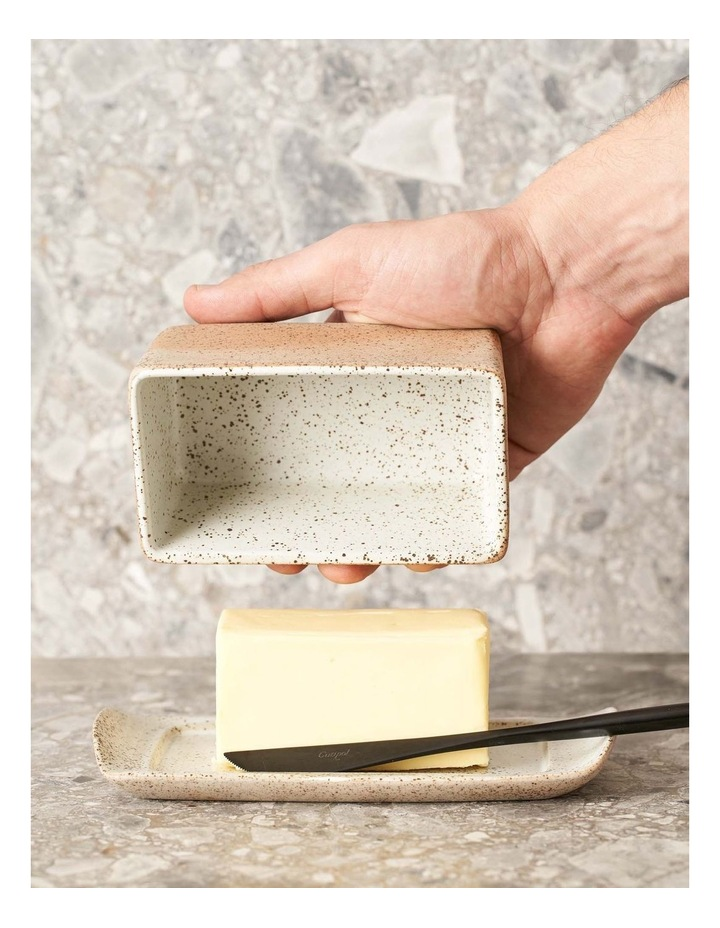 Butter Dish-White Garden To Table image 2