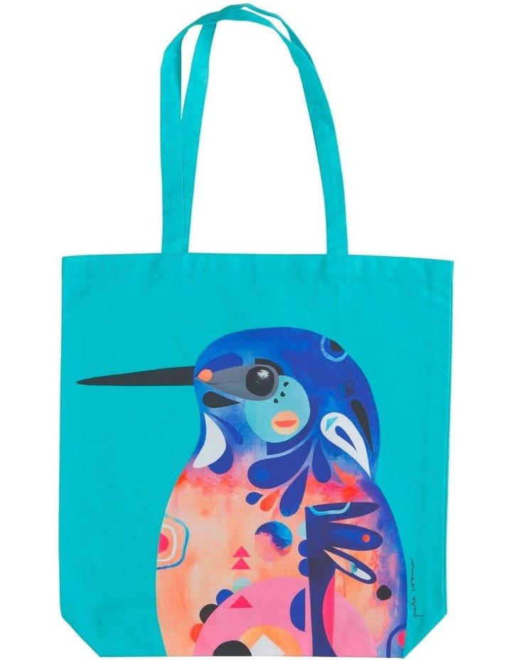 Pete Cromer Tote Bag 41x42cm Azure Kingfisher image 1