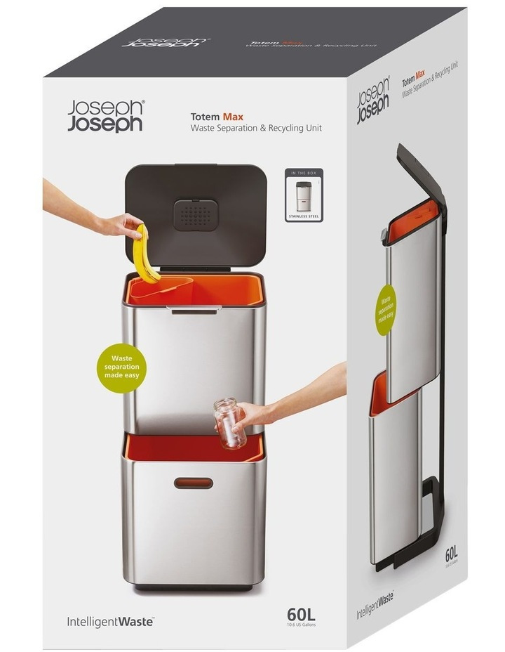 Totem Max 60-litre Stainless Steel image 1