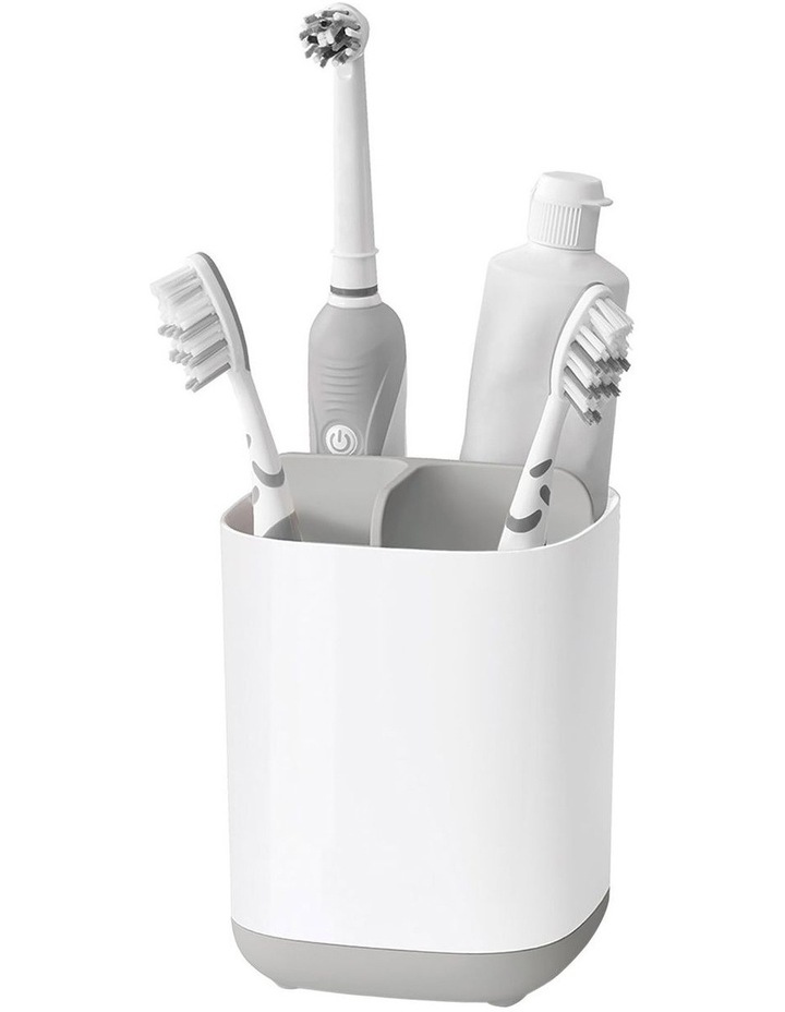 EasyStore Toothbrush Caddy - Grey/White image 3