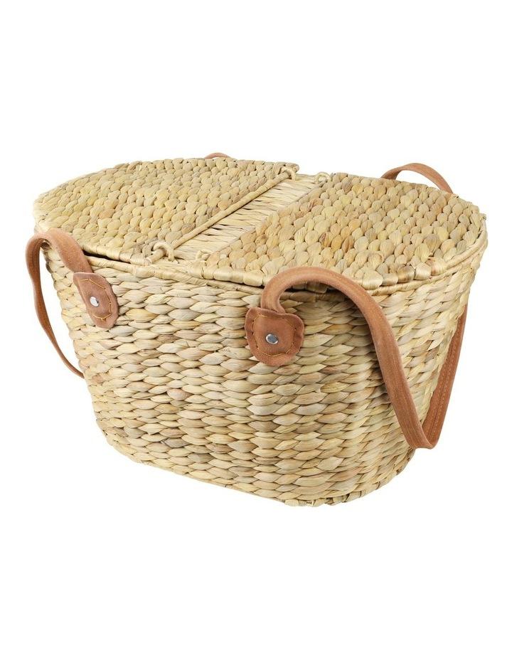 Picnic Basket w/Suede Handle image 1