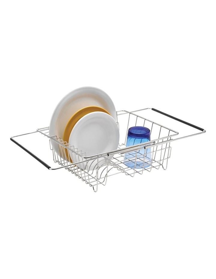 Stainless Steel Expandable In-Sink Dish Rack image 2