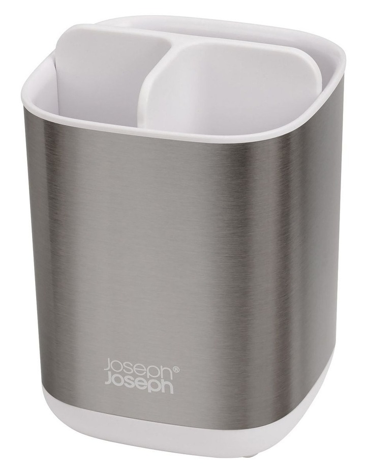 EasyStore Steel Toothbrush Caddy - White image 2