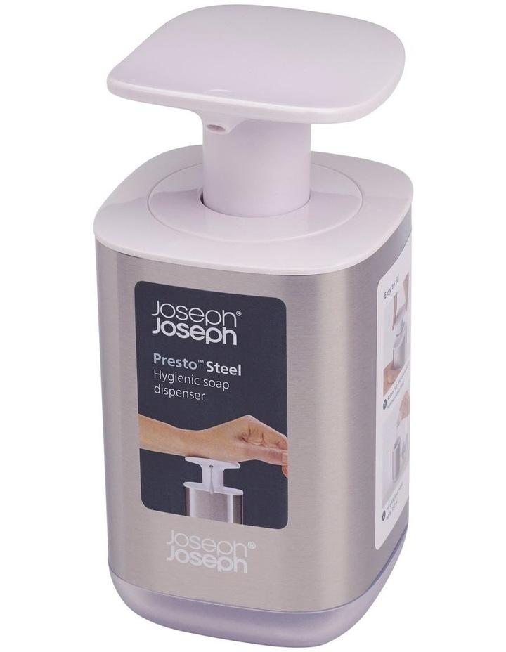 Presto Steel Soap Dispenser - White image 2