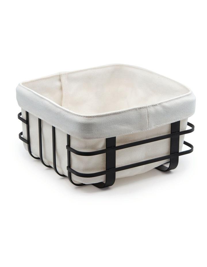Ebony Basket with Bag 19x10cm image 1