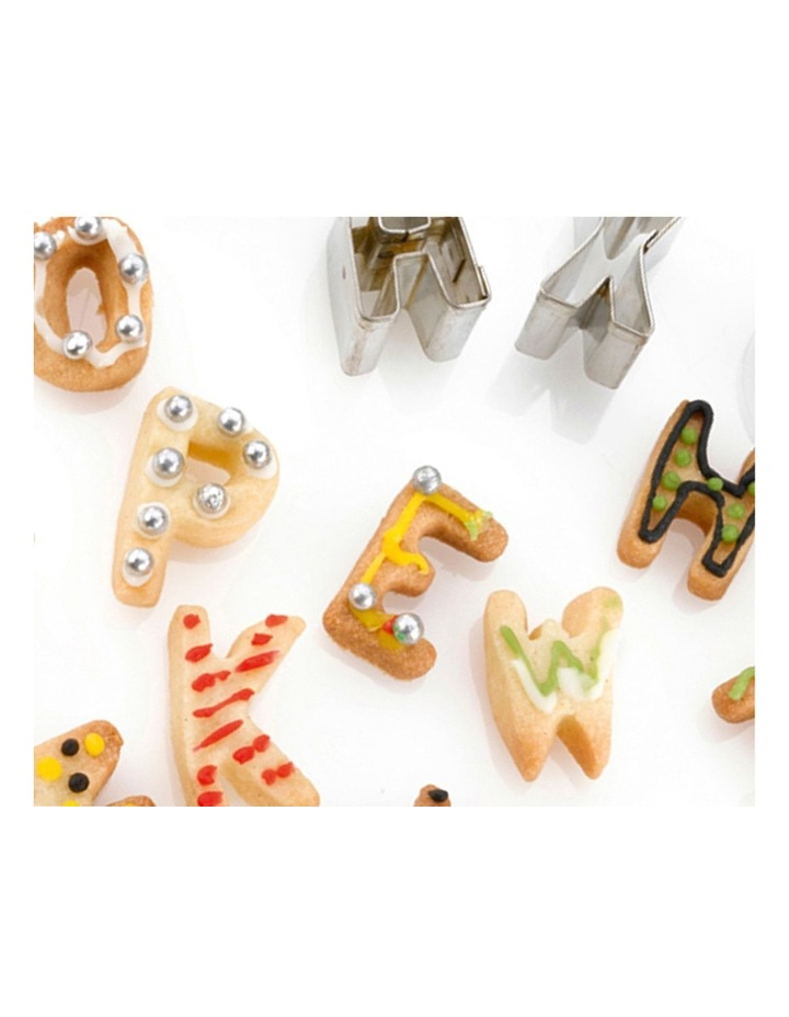 Alphabet Cookie Cutters 26pc Set image 2