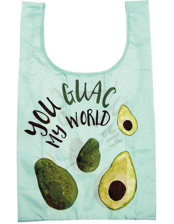 Eco Recycled PET You Guac My World Shopping Bag image 1