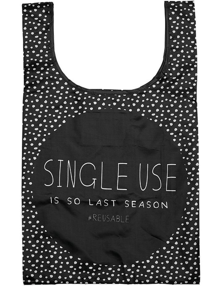 Eco Recycled PET So Last Season Shopping Bag image 1