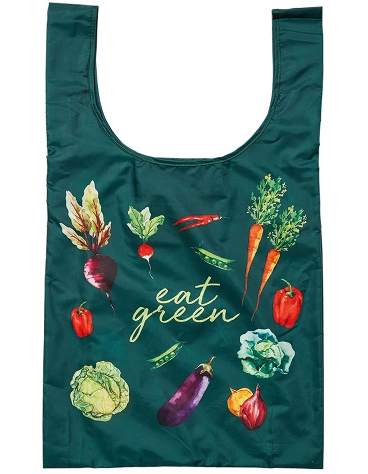 Eco Recycled PET Eat Green Shopping Bag image 1