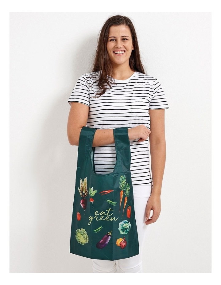 Eco Recycled PET Eat Green Shopping Bag image 4