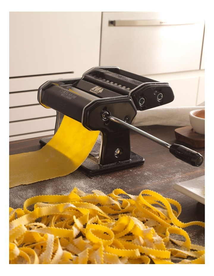 Atlas Wellness 150 Pasta Machine in Black image 5