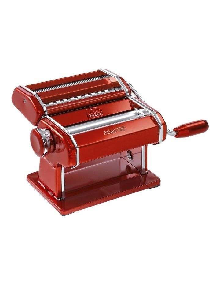 Atlas Wellness 150 Pasta Machine in Red image 1