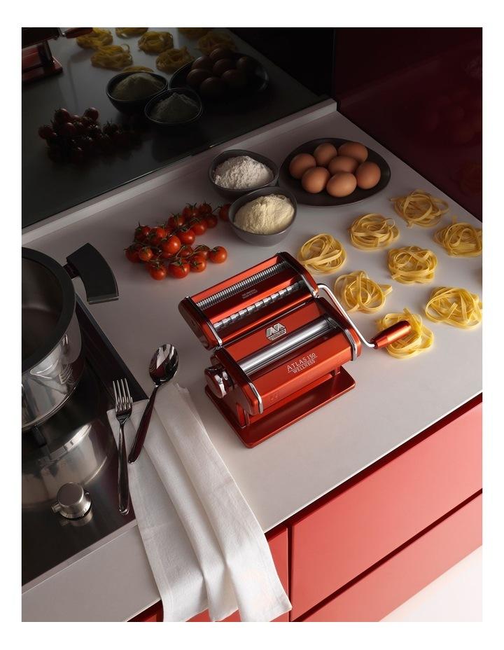 Atlas Wellness 150 Pasta Machine in Red image 4