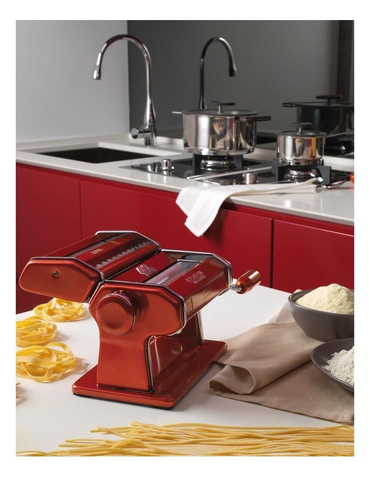 Atlas Wellness 150 Pasta Machine in Red image 5