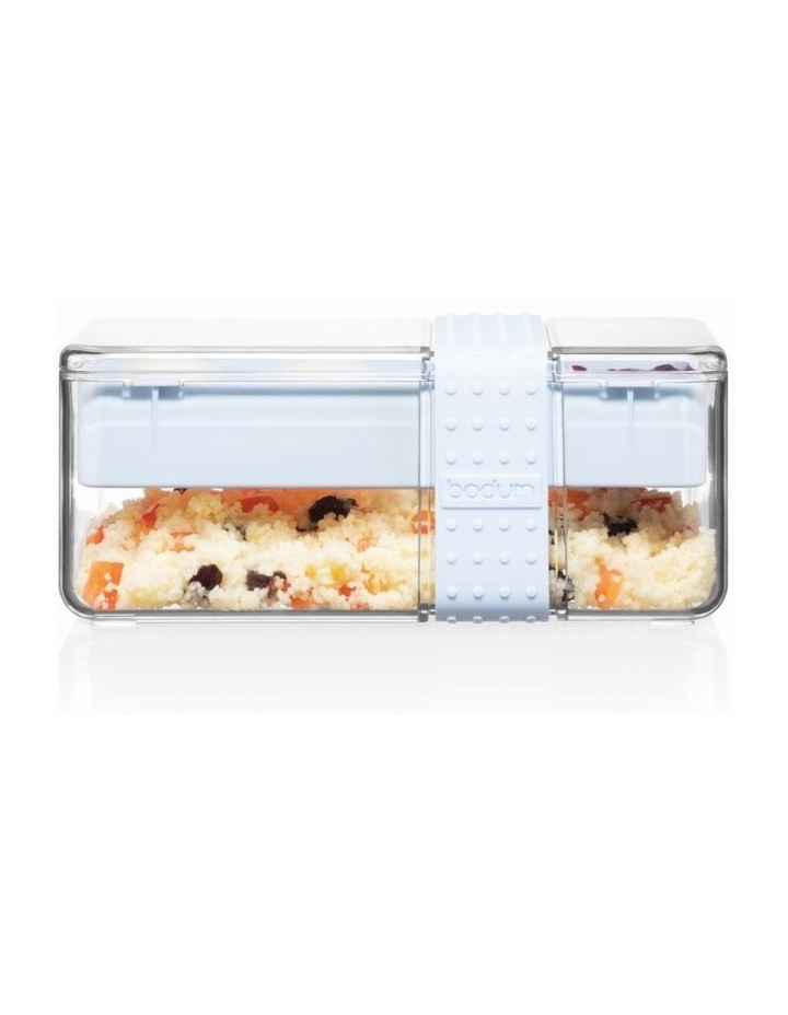 Bistro Lunch box with cutlery - Blue Moon image 1