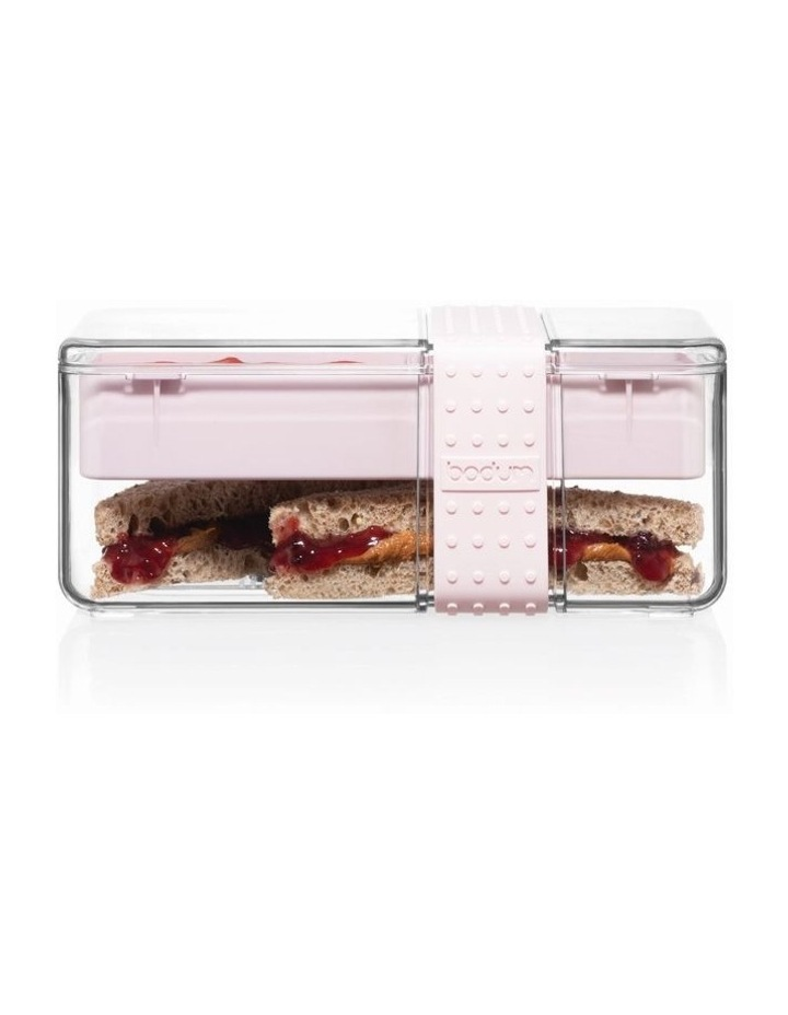 Bistro Lunch box with cutlery - Strawberry image 1