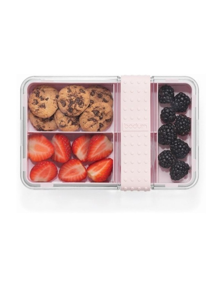 Bistro Lunch box with cutlery - Strawberry image 2
