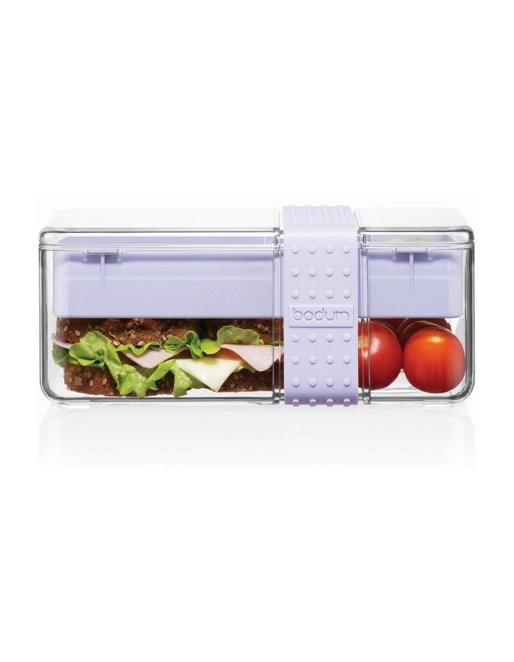 Bistro Lunch box with cutlery - Verbena image 1