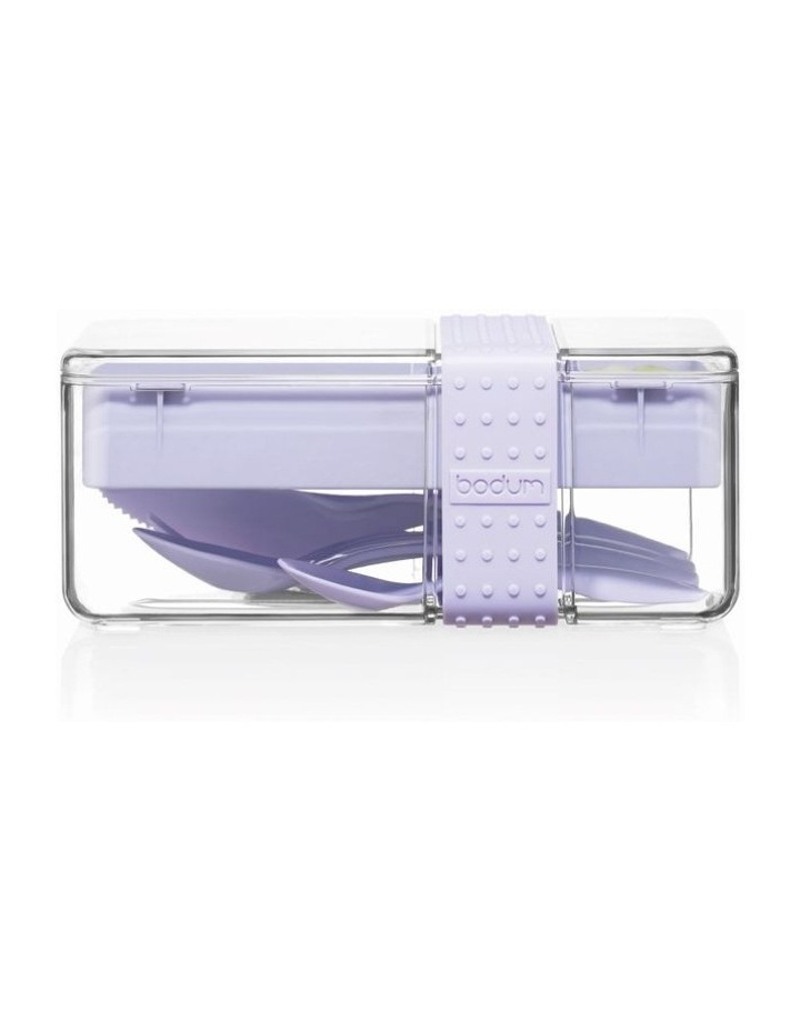Bistro Lunch box with cutlery - Verbena image 3