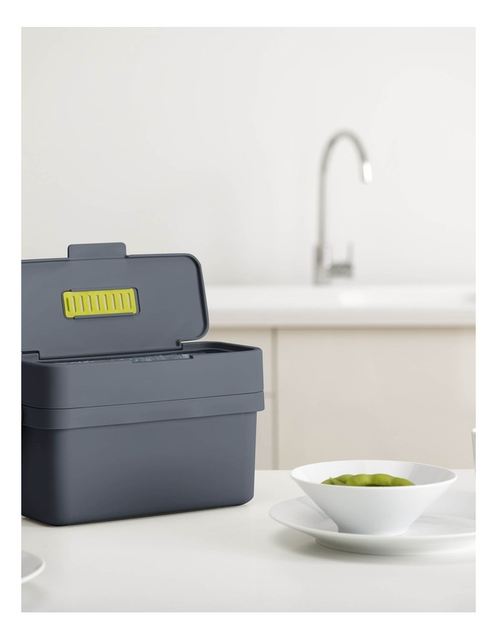 Compo 4 Food Waste Caddy - Graphite image 4