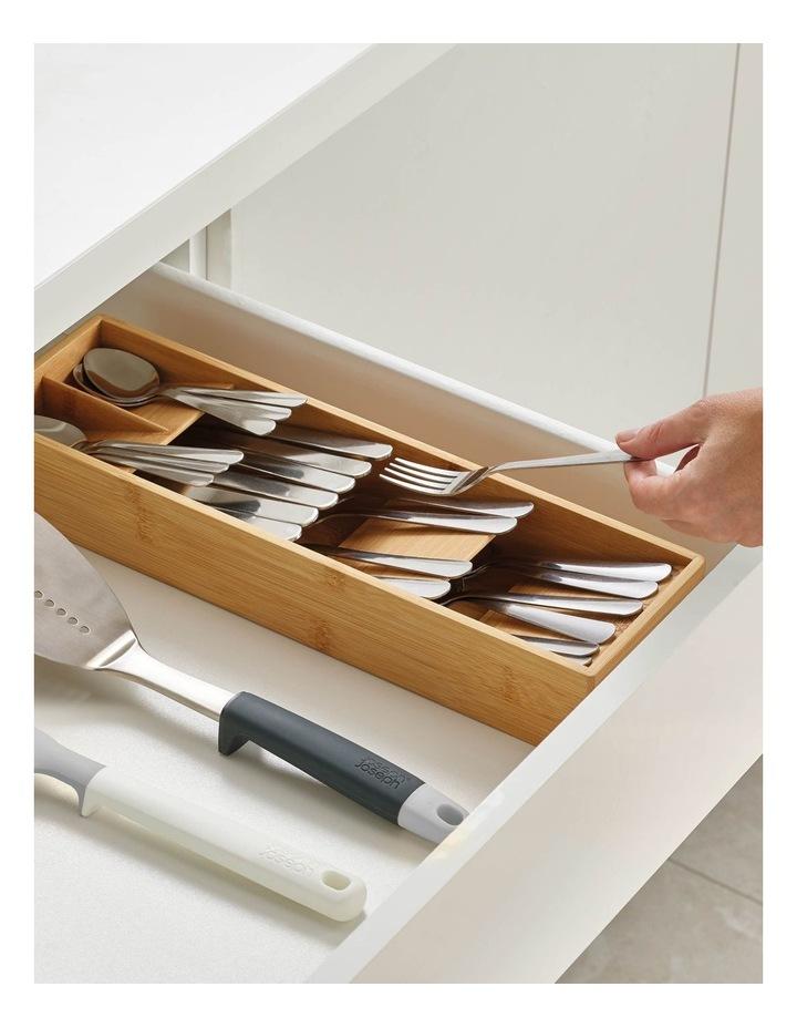 DrawerStore Bamboo Cutlery Organiser image 2
