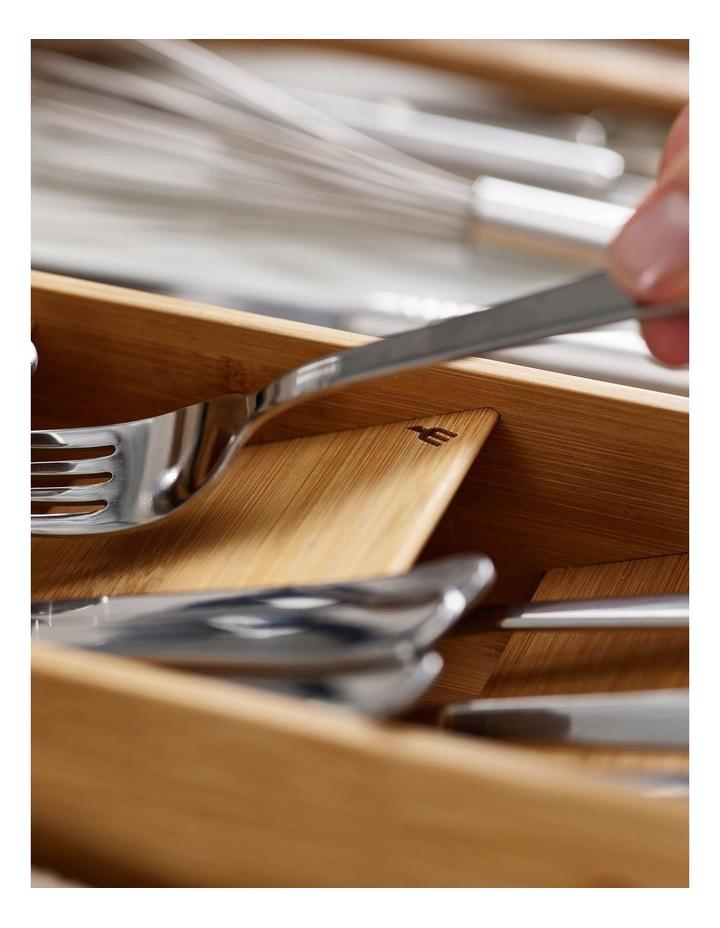 DrawerStore Bamboo Cutlery Organiser image 3