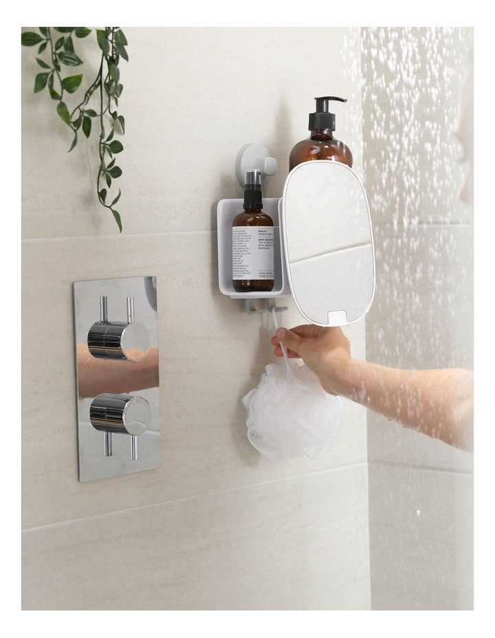 EasyStore Compact Shower Caddy - White image 3