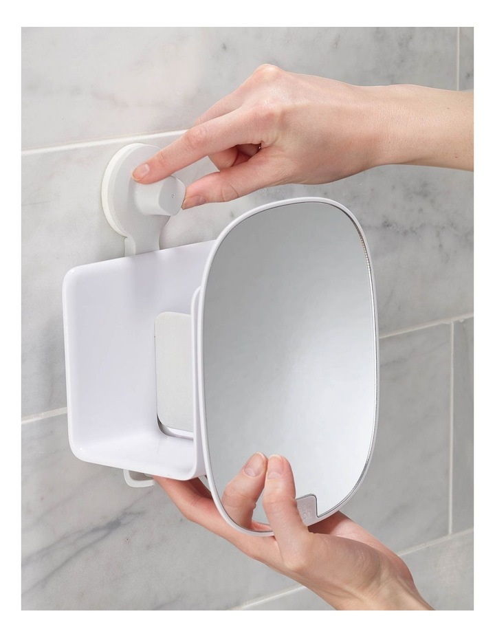EasyStore Compact Shower Caddy - White image 4