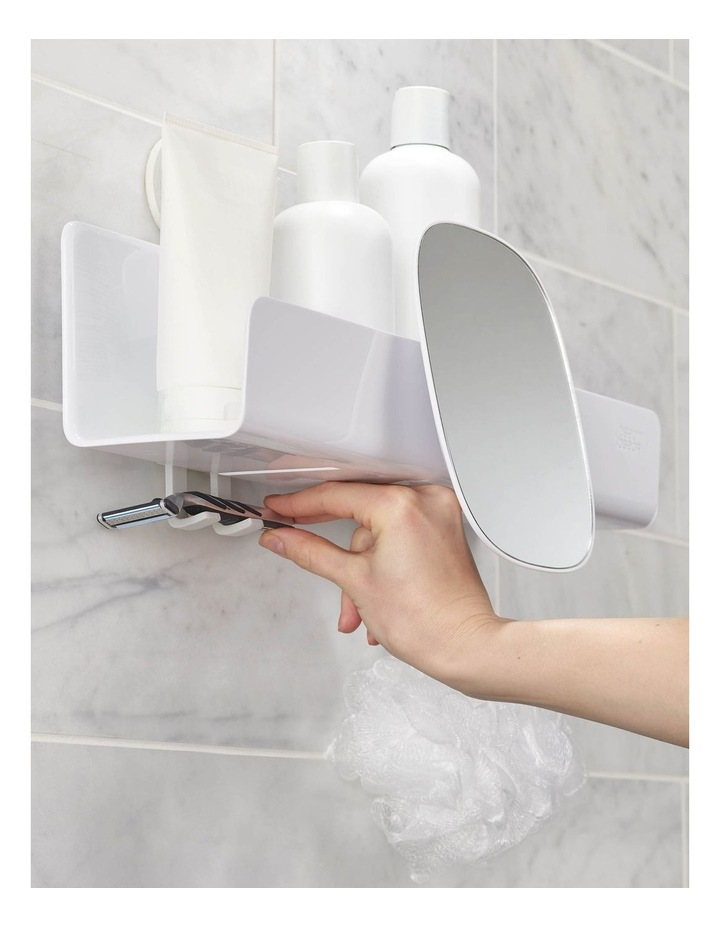 EasyStore Large Shower Caddy - White image 2