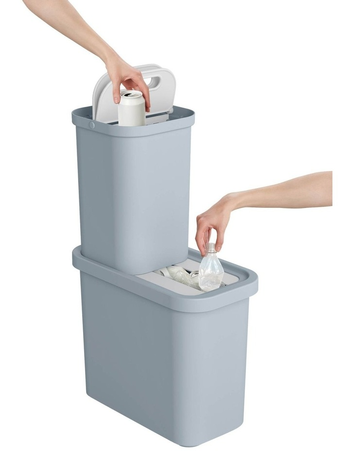 GoRecycle 46-litre Recycling Collector & Caddy Set image 2