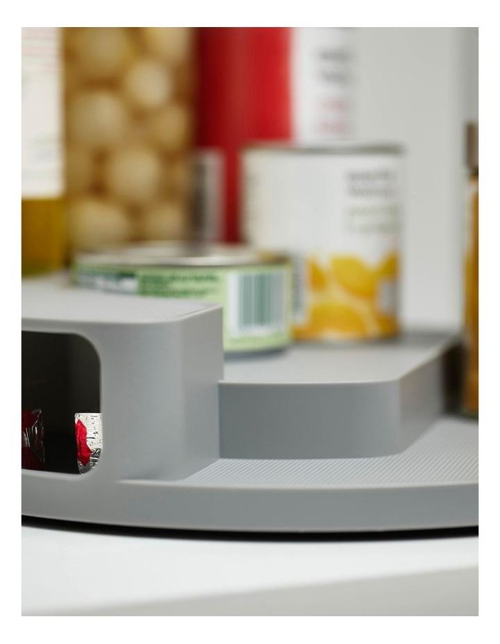 CupboardStore Rotating Organiser - Grey image 4