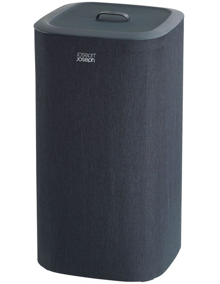 Tota 60-litre Laundry Separation Basket - Carbon Black image 1