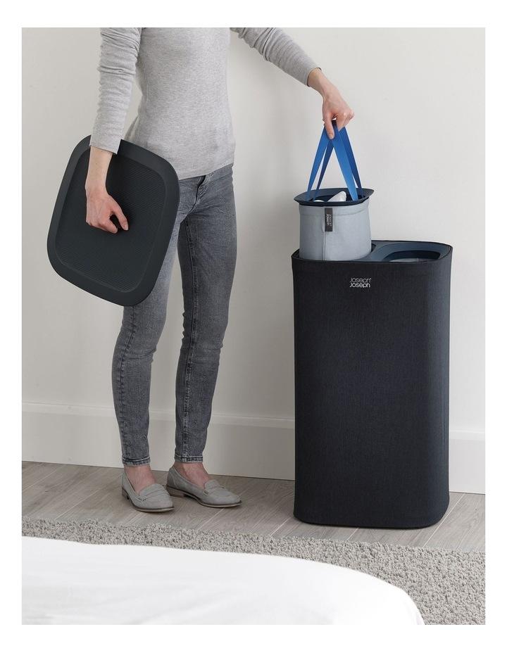 Tota 60-litre Laundry Separation Basket - Carbon Black image 3