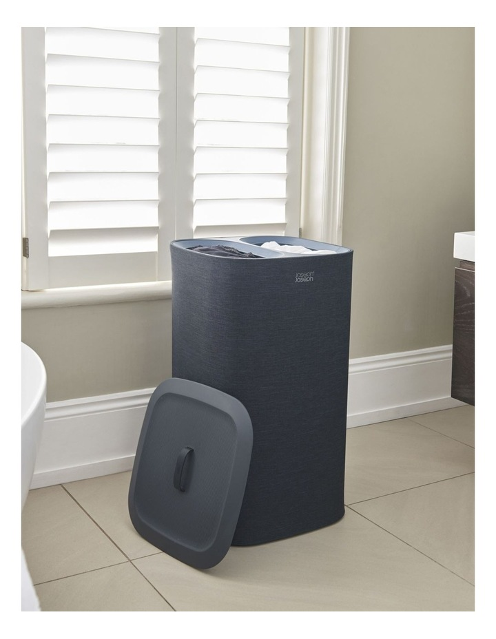 Tota 60-litre Laundry Separation Basket - Carbon Black image 7